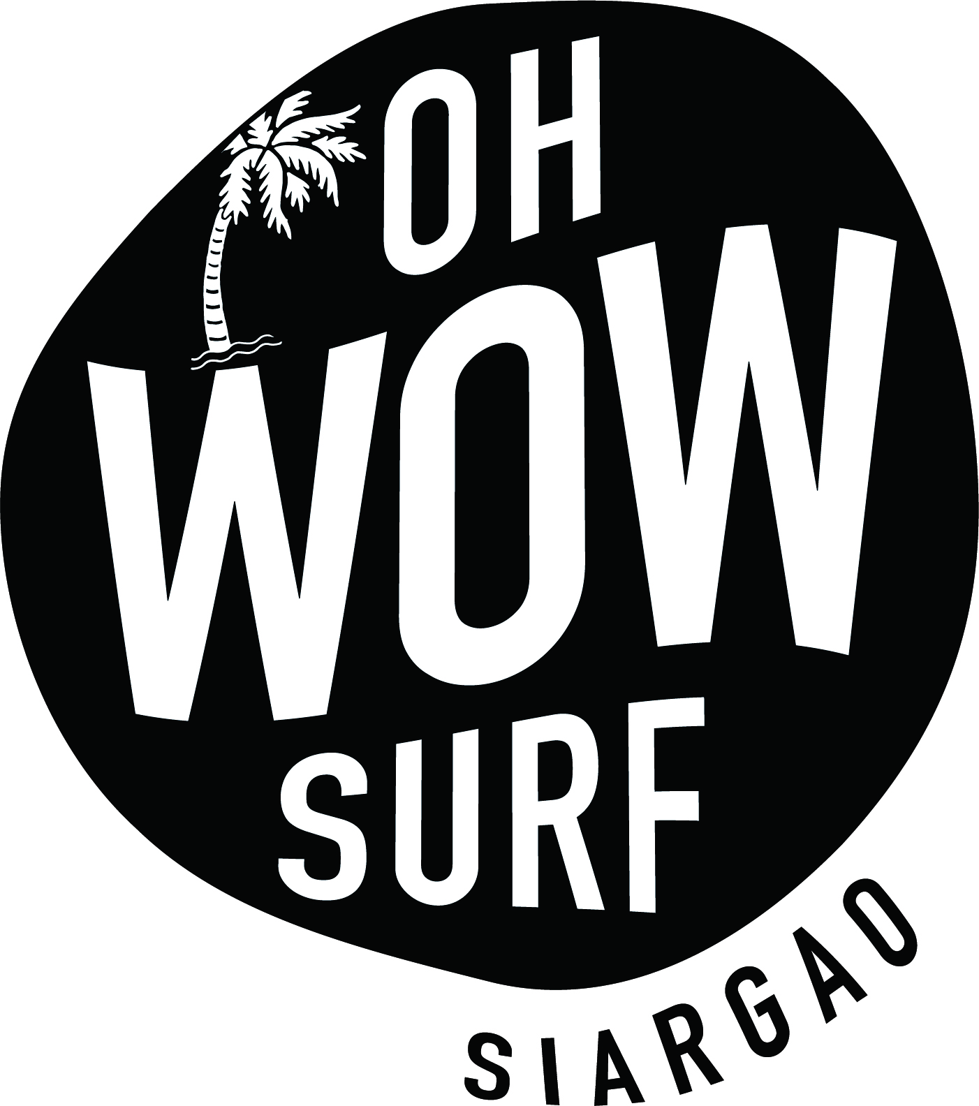 Oh wow surf logo